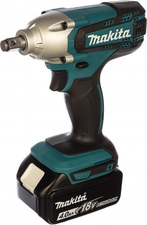 Гайковерт аккумуляторный MAKITA DTW190RME 18В 2х4Ач LI-ION 0-3000уд/м 190Нм 1/2 1.4кг charger for makita li ion battery bl1830 bl1430 dc18rc dc18ra dc18rct 100 240v 50 60hz
