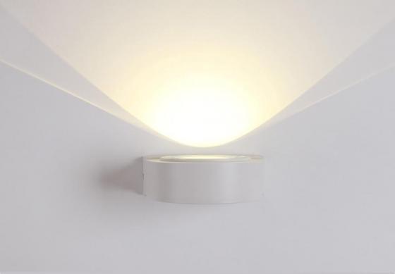 Уличный настенный светодиодный светильник Crystal Lux CLT 025W WH crystal lux торшер crystal lux jewel pt2 wh