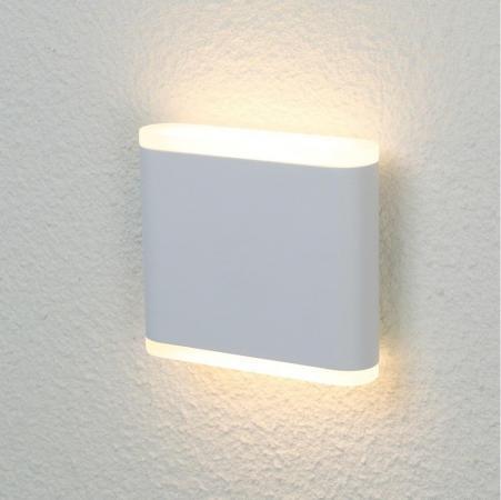 Уличный настенный светодиодный светильник Crystal Lux CLT 024W113 WH crystal lux торшер crystal lux jewel pt2 wh