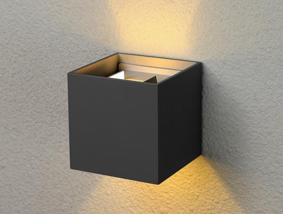 Уличный настенный светодиодный светильник Elektrostandard 1548 Techno LED Winner 4690389106279 настенный светильник kolarz austrolux barca 2295 62 5 ag