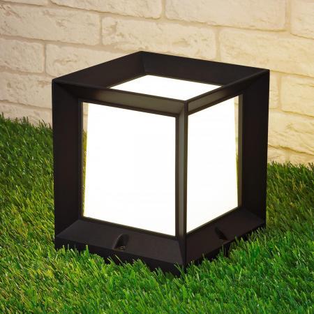 Уличный светильник Elektrostandard 1603 Techno Marko L черный 4690389107771 pressure switch dro zse30 01 25 l