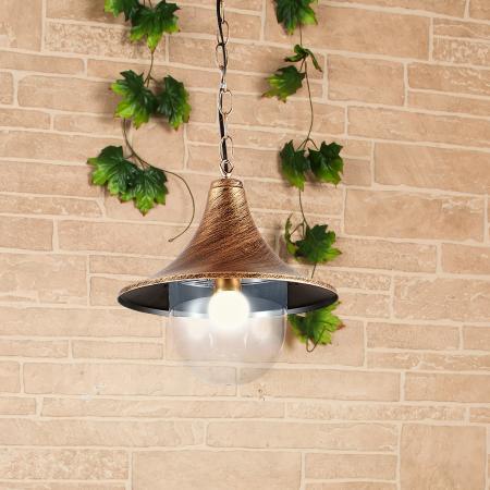 Уличный подвесной cветильник Elektrostandard Saga H GL 1020H 4690389115592 life in trend cветильник подвесной ship lantern