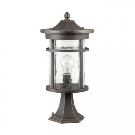 Уличный светильник Odeon Light Virta 4044/1B наземный низкий светильник odeon light virta 4044 1b