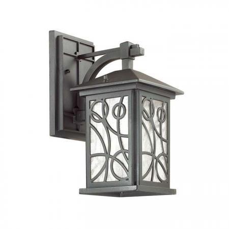 Уличный настенный светильник Odeon Light House 4040/1W турник house fit настенный с кольцами 1212 52