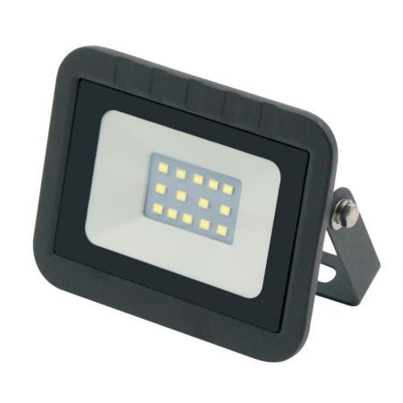 Прожектор светодиодный (UL-00000235) Volpe 10W ULF-Q511 10W/DW IP65 220-240В Black прожектор светодиодный estares dl ns10 ac180 264v 10w ip65 зеленый