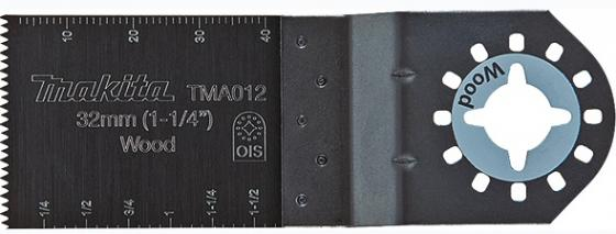 Полотно пильное для МФИ MAKITA B-21381 погружное, 40х32мм, тв.дерево полотно пильное для электролобзика makita a 85656 по дереву 5 шт