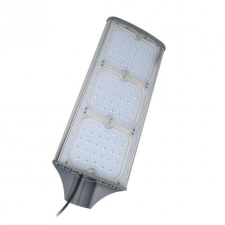Уличный светодиодный светильник (UL-00001862) Uniel ULV-R71J-150W/NW IP65 Silver уличный светодиодный светильник ul 00001861 uniel ulv r71j 100w nw ip65 silver