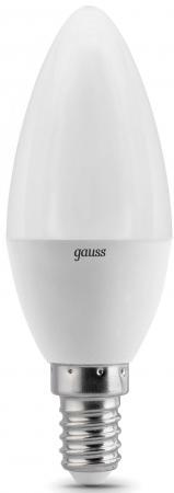 Лампа светодиодная свеча Gauss 103101107-D E14 7W 3000K стоимость