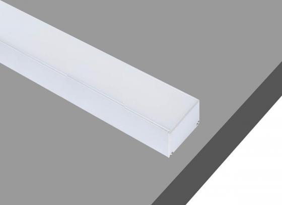 Профиль алюминиевый подвесной/накладной Donolux DL18506 S накладной светильник leds c4 pipe 15 0073 14 05