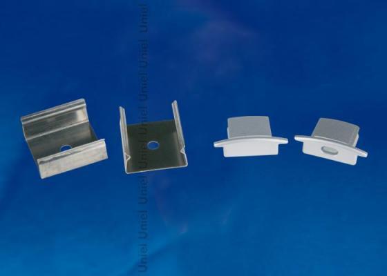 Набор аксессуаров для алюминиевого профиля (4 шт.) Uniel UFE-N01 Silver статуэтка n01
