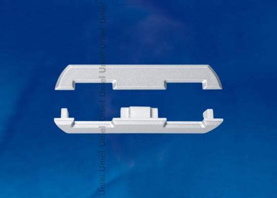 Набор заглушек для алюминиевого профиля (4 шт.) Uniel UFE-N08 Silver laete n08 139