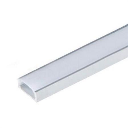 Прозрачный рассеиватель для алюминиевого профиля Uniel UFE-R04 Clear цена и фото