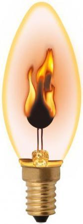Лампа декоративная свеча Uniel UL-00002981 E14 3W игровой набор с пластилином play doh b0306 фабрика мороженого