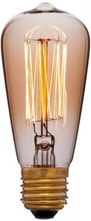 Лампа накаливания колба Sun Lumen 053-600 E27 60W sun lumen лампа накаливания sun lumen колба прозрачная e27 60w 053 228