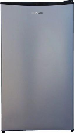 Холодильник Shivaki SDR-084S серебристый (однокамерный) холодильник shivaki sdr 054s