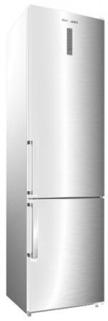 Холодильник SHIVAKI BMR-2013DNFW белый серебристый холодильник shivaki bmr 2013dnfw