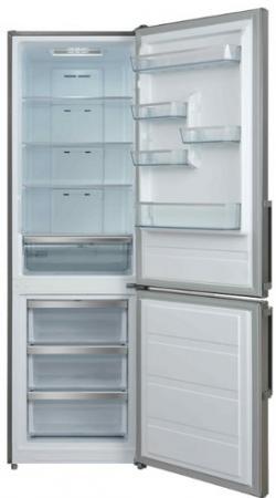 Холодильник SHIVAKI BMR-1883NFX нержавеющая сталь