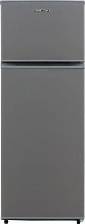 Холодильник SHIVAKI TMR-1441S серебристый холодильник shivaki sdr 054s