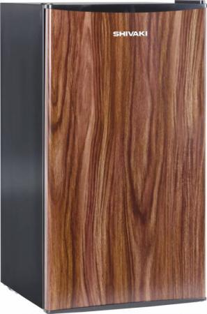 Холодильник Shivaki SDR-084T темное дерево (однокамерный) однокамерный холодильник shivaki shrf 55chs