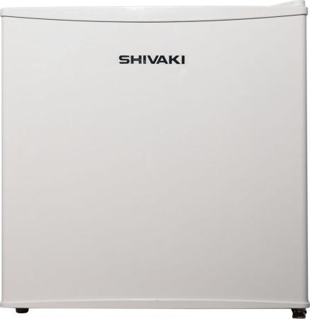 Холодильник Shivaki SDR-054W белый (однокамерный) холодильник shivaki sdr 054s