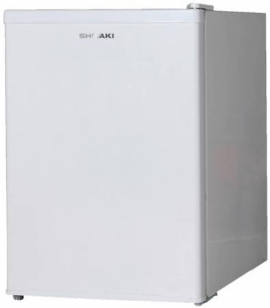 Холодильник Shivaki SDR-064W белый (однокамерный) холодильник shivaki sdr 054s