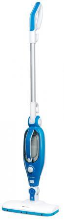 Паровая швабра KITFORT Kitfort KT-1005-1 1500Вт белый голубой