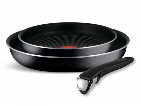 Набор сковородок Tefal Ingenio Black 04181820 3 предмета (9100027686) набор сковородок tefal ingenio red 04175830 3 предмета 9100024806
