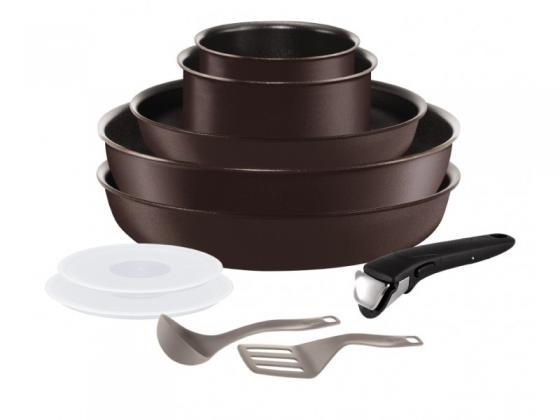 Набор посуды Tefal Ingenio Chef L6559802 10 предметов (2100096879) набор посуды из 3 х предметов tefal ingenio 041 31 830