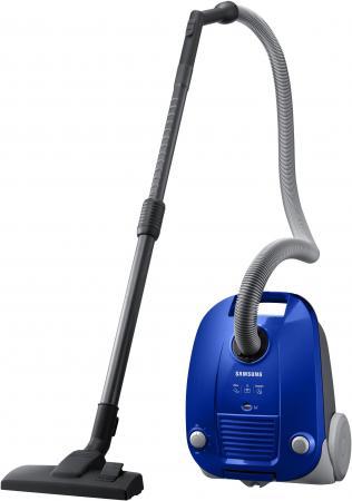 Пылесос Samsung VCC4140V3A сухая уборка синий пылесос samsung v sc24jvnjgbj сухая уборка голубой чёрный