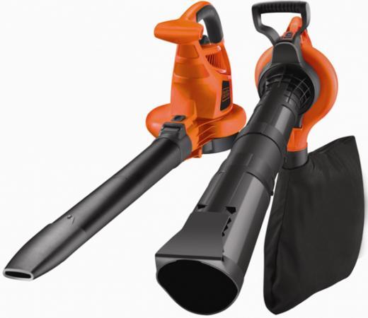 Воздуходувка-пылесос Black & Decker GW3030-QS 3000Вт пит.:от сети оранжевый/черный аэратор black decker gd300 qs