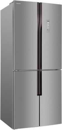Холодильник Hansa FY418.3DFXC металлик холодильник однодверный hansa fm1337 3paa