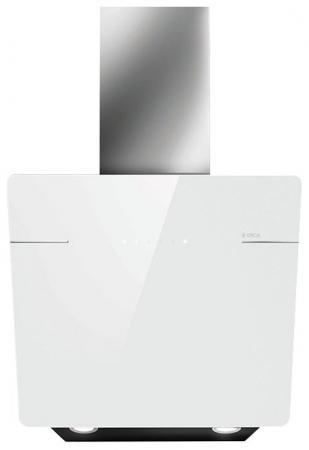 Вытяжки ELICA/ Пристенная наклонная, 60 см, 1200 куб.м., сенсорное управление, белое стекло