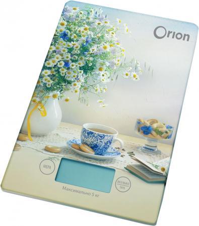 Весы кухонные Orion ВБК-СП01-5КГ рисунок цена в Москве и Питере