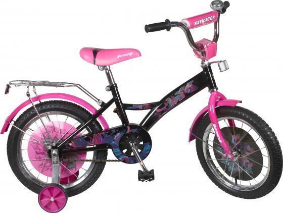 Велосипед двухколёсный Navigator Lady бело-розовый ВН16078Н