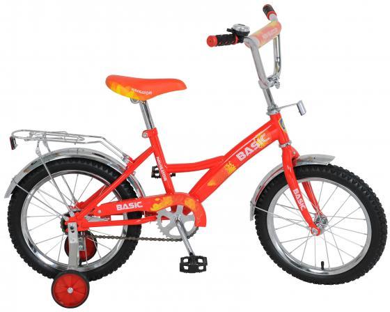 Велосипед двухколёсный Navigator Basic красно-желтый