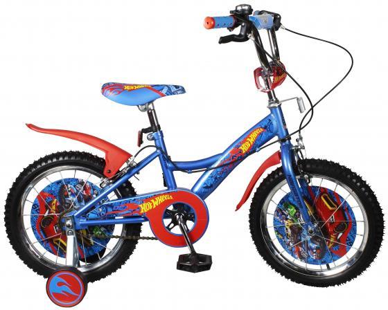 Велосипед двухколёсный Navigator Hot Wheels сине-красный ВН16111Н navigator велосипед двухколесный hot wheels