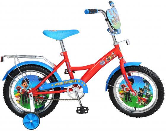 Велосипед двухколёсный Navigator Щенячий патруль красно-голубой ВН16117Н
