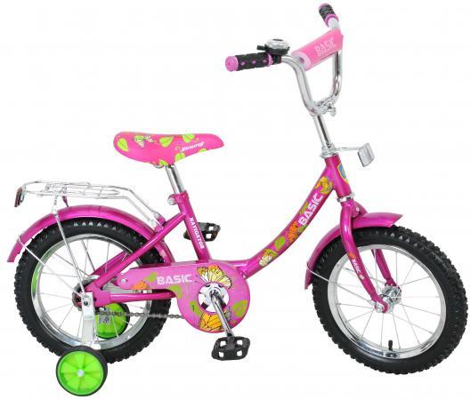 Велосипед двухколёсный Navigator Basic розовый