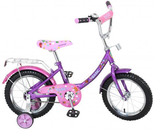 Велосипед двухколёсный Navigator Basic розово-фиолетовый