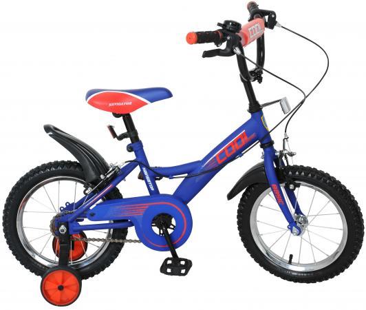 Велосипед двухколёсный Navigator Basic COOL сине-красный ВН14144Н
