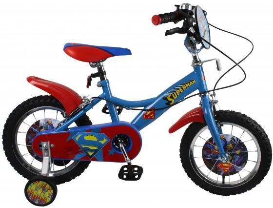 Велосипед двухколёсный Navigator Супермен голубой-красный велосипед royal baby pony 2 в 1 зеленый двухколёсный rb12b 4
