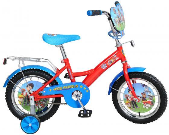 Велосипед двухколёсный Navigator Щенячий патруль красно-голубой ВН14161Н