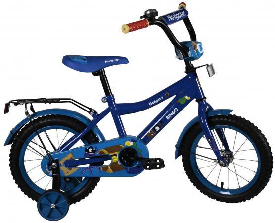 Велосипед двухколёсный Navigator Bingo boys синий