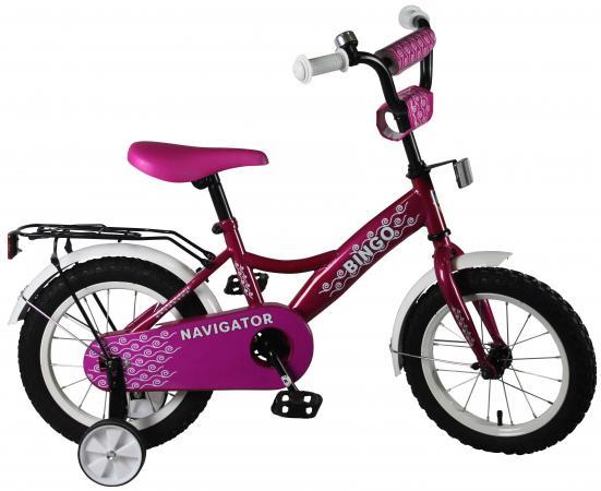 """Велосипед двухколёсный Navigator BINGO(2018) 14"""" красный ВН14168А"""