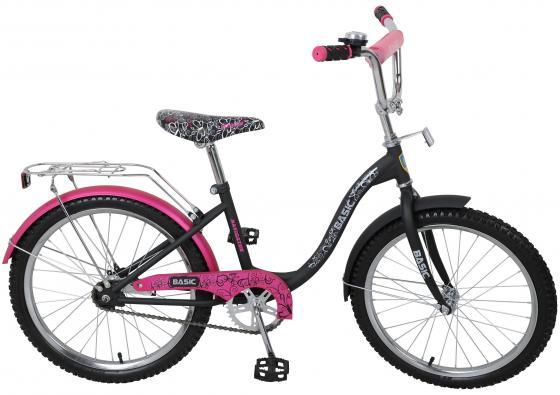 Велосипед двухколёсный Navigator Basic розово-черный ВН20053Н