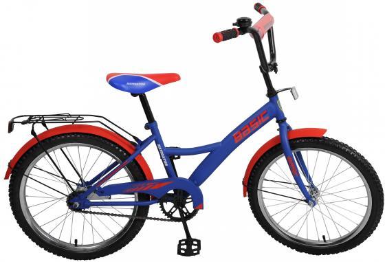 Велосипед двухколёсный Navigator Basic сине-красный