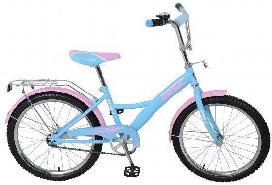 Велосипед двухколёсный Navigator Basic голубой-розовый ВН20154Н