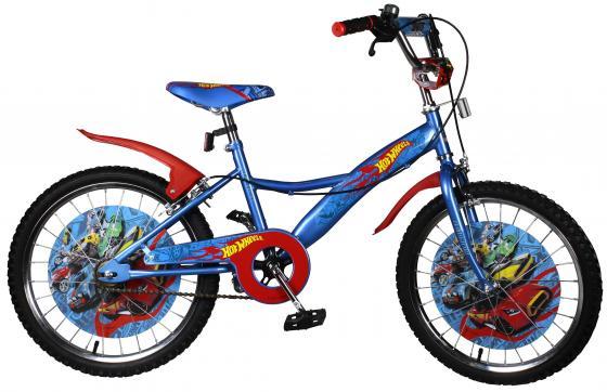 Велосипед двухколёсный Navigator Hot Wheels сине-оранжевый ВН20168Н