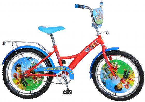 """Велосипед двухколёсный Navigator Щенячий патруль 20"""" красно-синий ВН20176"""