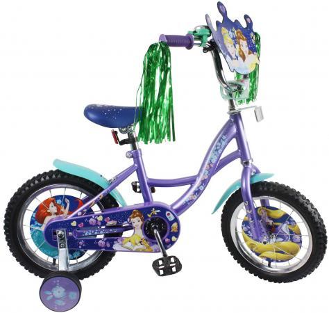 Велосипед двухколёсный Disney Принцессы фиолетовый ВН14165 кабошон лазурит 12 16 мм